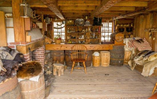 Fort Stanwix National Monument: La boutique du trappeur