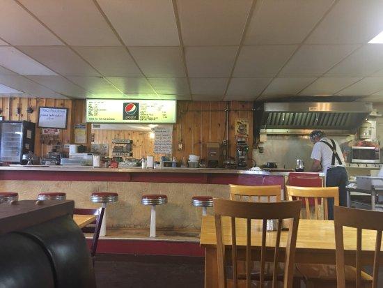Winchester, Idaho: Inside open kitchen
