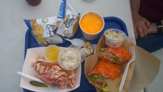 Eastport, ME: A wonderful lunch
