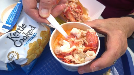Eastport, ME: Lobster, lobster and more lobster in the stew.