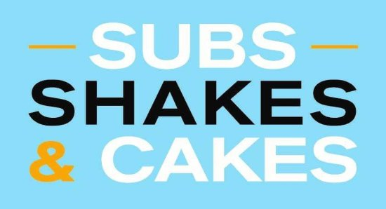 Kennford, UK: Subs Shakes and Cakes