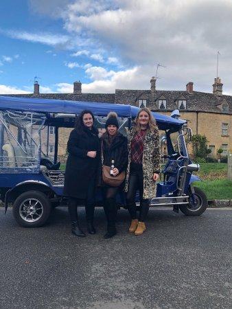 Upper Slaughter, UK: Cotswold Tuk Tuk Tours