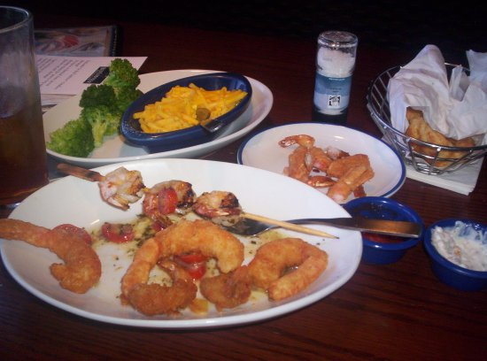 Red Lobster: Another of the many shrimp dishes