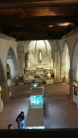 Vista de Atienza, castillo en iglesias-museo