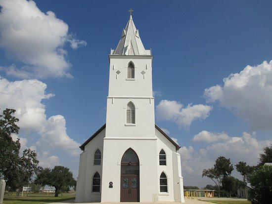 Panna Maria, TX: The church