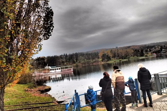 Brno Dam: Dam serves as the perfect mirror of TIME