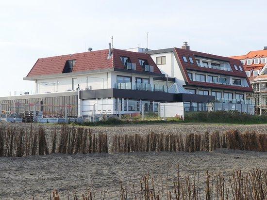 Hotel de Blanke Top : Vue de l'hôtel