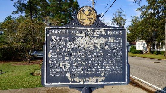 Columbia, AL : Historic Marker