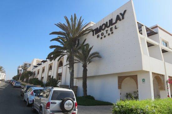 Hotel Timoulay & Spa Agadir : Arrivée à l'hôtel...