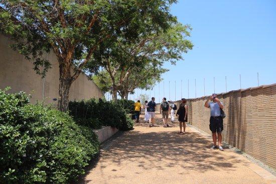 Freedom Park: Walkways