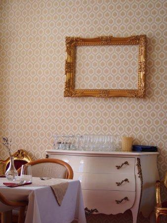 Hlohovec, Česká republika: interiér restaurace