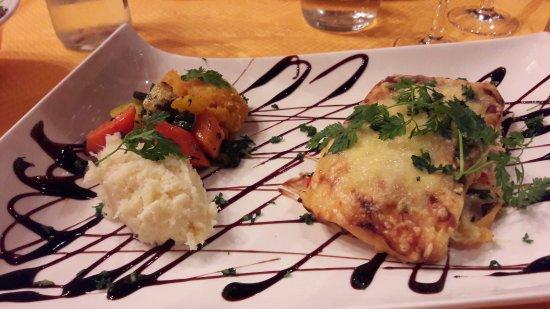 Plobsheim, Frankrig: Lasagnes végétariennes
