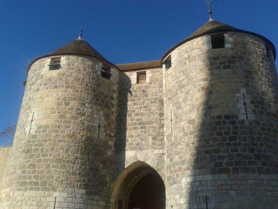 Dourdan Chateau - entrance.