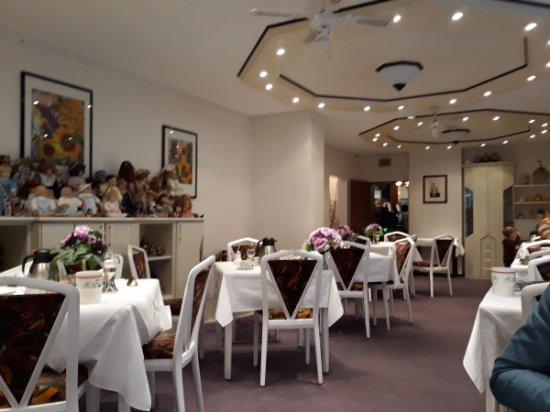 Simmerath, Germany: Kitsch troef in één van de restaurants.