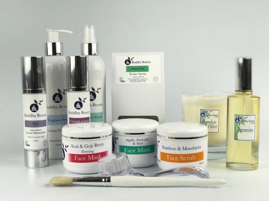 Hand made luxury skincare we use - Picture of The Buddha
