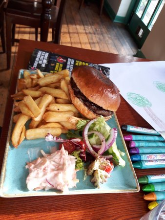 Conwy Falls Cafe: Burgeer