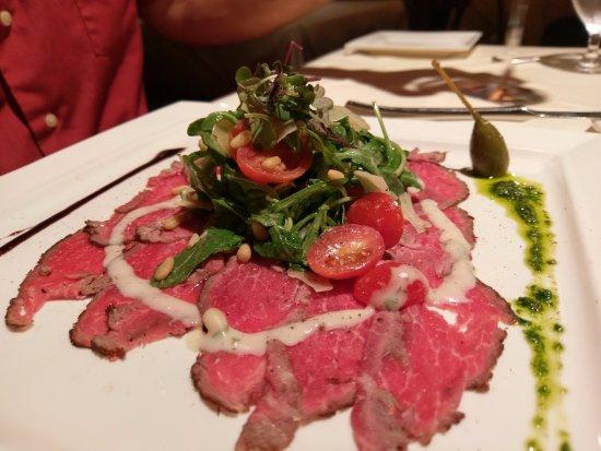 Palm Court Italian Grill: Carpaccio