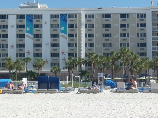 Tradewinds Island Grand Resort View Of Bluegreen At The From Beach