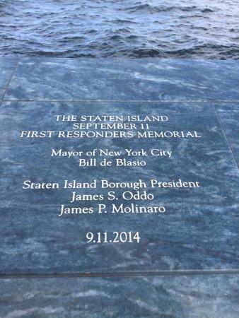 Postcards-The The Staten Island September 11 Memorial: photo4.jpg