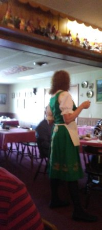 Abbottstown, PA: It's definitely German. She's even dressed as such.