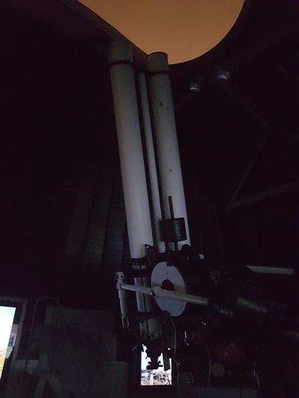 Štefánikova hvězdárna: Uno dei telescopi presenti nell'osservatorio