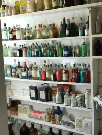 Thirsk, UK: Medicines just as they were then