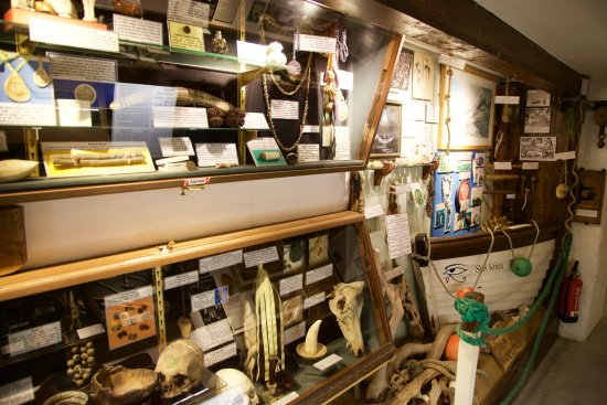 Boscastle, UK: Exhibits at Museum