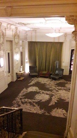 Savoy Hotel: hall do segundo andar