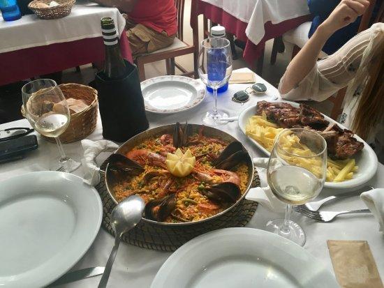 O Chiringuito: Paella