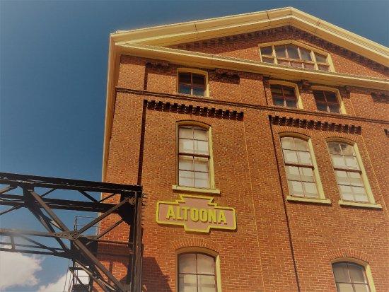 Altoona Railroaders Memorial Museum: entrance
