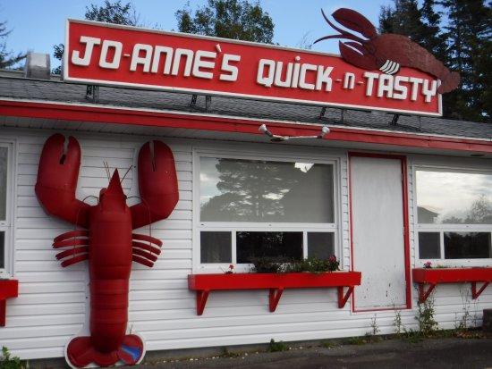 Yarmouth, Canada : Extérieur du restaurant