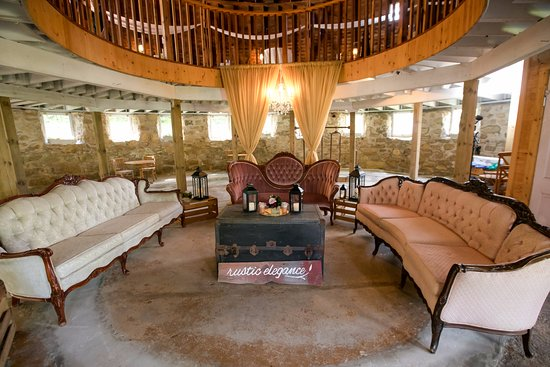 Red Wing, MN: lower level of round barn