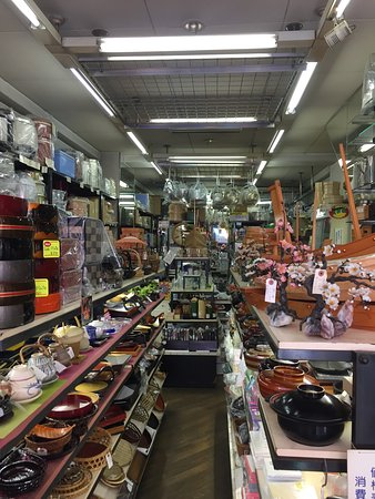 Kitchen supply shop - Picture of Kitchen Town (Kappabashi), Taito ...