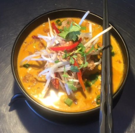 Tuross Head, Australien: Prawn Laksa