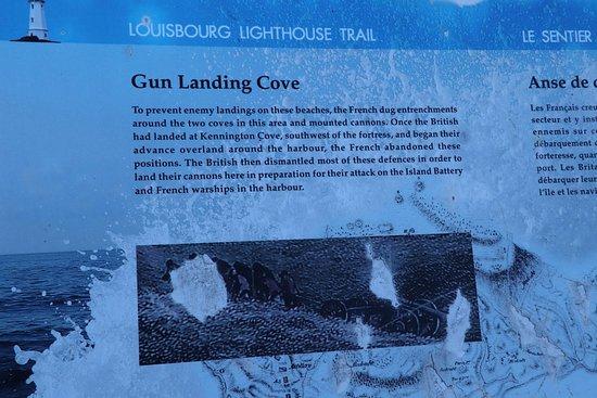 Louisbourg, Canada: Gun Landing Cove
