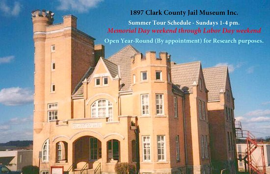 Neillsville, Висконсин: 1897 Clark Co Jail Museum Cover photo