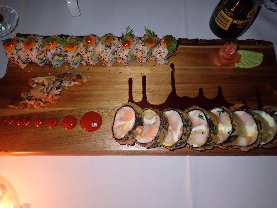 El Castillo Hotel: Special sushi!