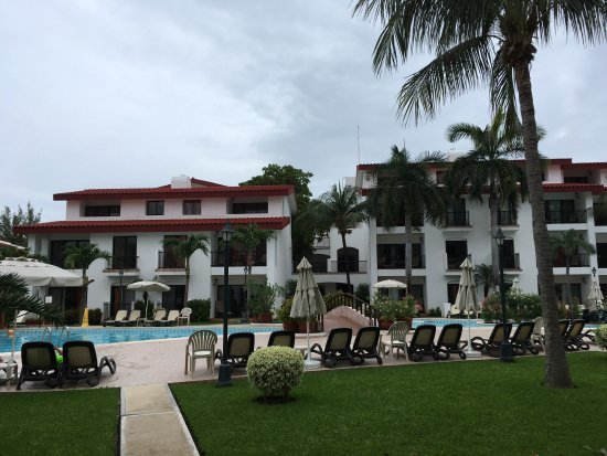 The Royal Cancun All Suites Resort: View from our villa