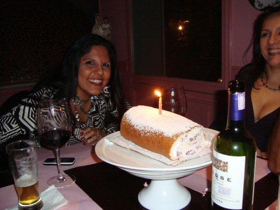 Antigua: El servicio de la torta