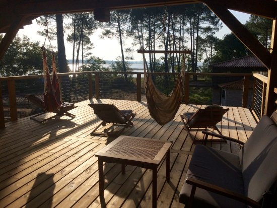 Lacanau, Francia: terrasse privative