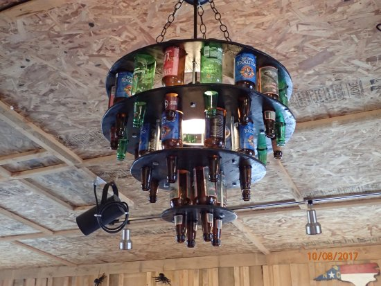 Wine Chandelier Picture Of Fatback Soul Shack Christiansburg