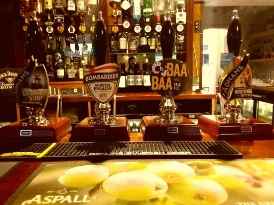 Woolpit, UK: Real Ales