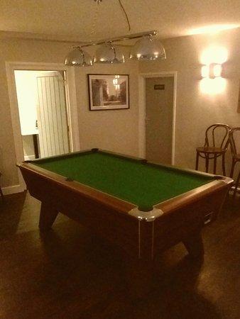 Woolpit, UK: Pool Room