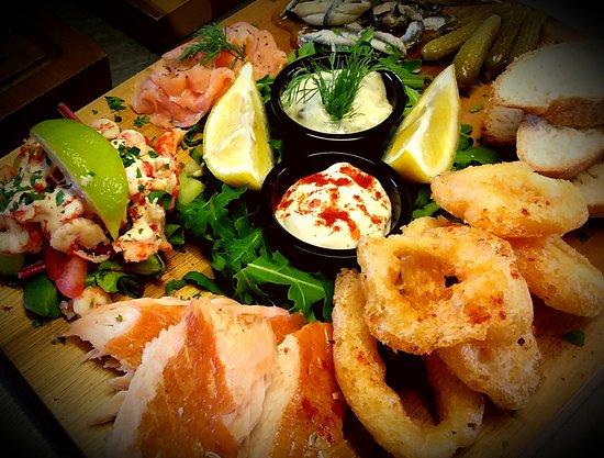 Woolpit, UK: Fish Platter