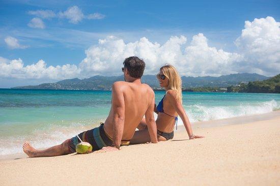 Grenada: Relaxing Moment on Grand Anse Beach