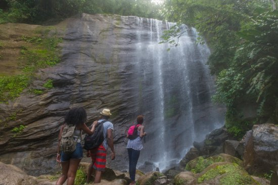 Grenada: Explore with friends at the breathtaking Mt.Carmel Waterfalls