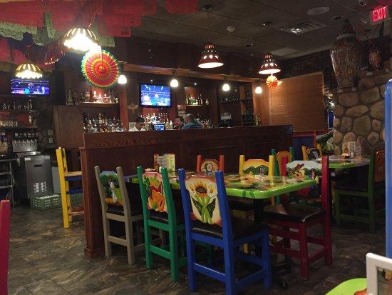 Netcong, Νιού Τζέρσεϊ: The restaurant room itself