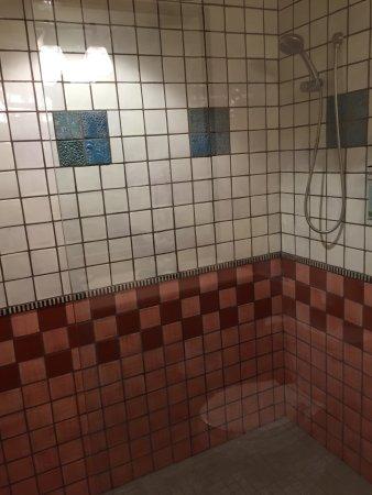 Old Santa Fe Inn: Rain shower with hand-shower too