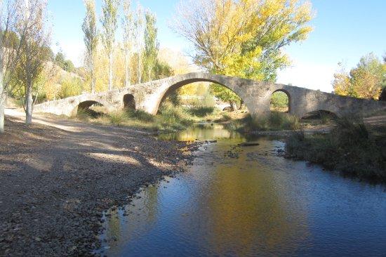 Luco de Jiloca, Ισπανία: Puente romano.