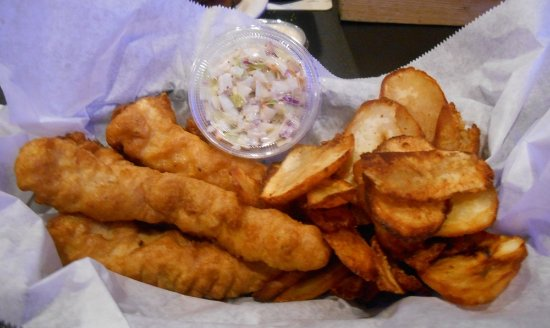 Palm Bay, FL: Mahi Fish and Chips
